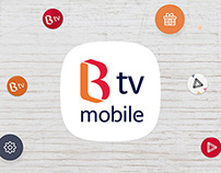 B tv mobile app Renewal Project