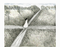 Crossroads - pencil