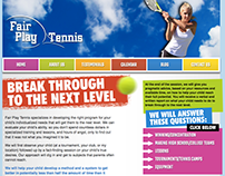 Fair Play Tennis - Junior Coaching Consulting