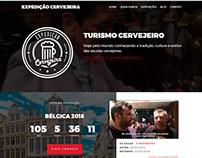 UI / UX :: Website :: Expedição Cervejeira