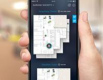 "UI for Indoor Location App ""USpace"""