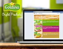Onglet Produits - Goldina