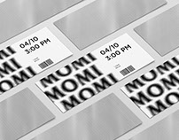 MUSEUM OF THE MOVING IMAGE VISUAL IDENTITY