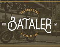 Bataler Vintage Font