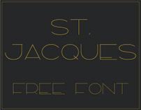 ST. JACQUES - FREE FONT