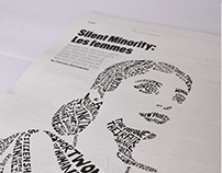 Typographic Portrait Design