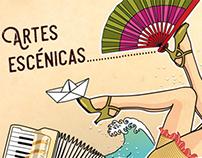 """Ilustración """"Artes Escénicas"""""""