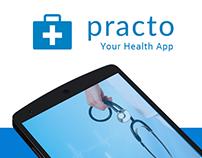 Practo - Health App (Material Design)