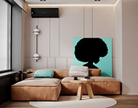 """Apartment in Moscow ZHK """"Discovery"""""""