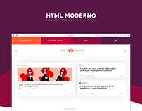 Blog HTML Moderno