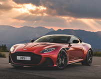 Aston Martin DBS Superleggera launch