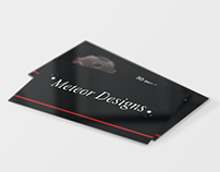 meteordesigns - business card