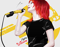 Hayley Williams Vector