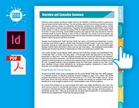 Interactive PDF Design | Navigation Tabs