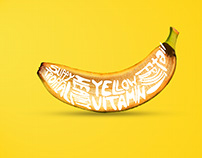Banana Typography