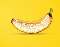 Banana Typography