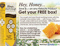Honey Don't Cough Flyer