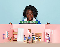 Girls Room campaign for Good Neighbors