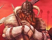 Red Viking poster