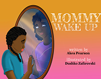 """Mommy Wake Up"", Children's Book"