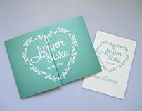 Wedding invitation - Jurgen & Siska