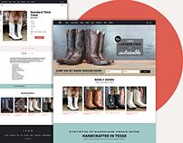 Kat Mendenhall Boots Website