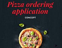 Pizza App - Design Layout