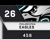 Philadelphia Eagles 2018 Inserts / Cake Studios