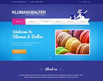 Bakery Website Mockup