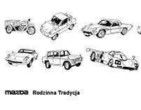 Mazda: Rodzinna Tradycja (2016) comic book