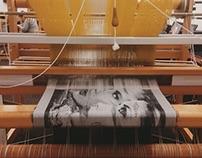 """American Dream"" Jacquard Woven Fabric"