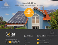 solar site design is a creation of nexstair technologie