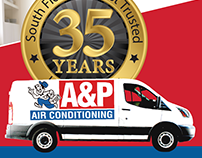 A&P Air Conditioning Co-op Digital Ad Campaign