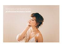 Tessa Nickerson // Identity // Web Design
