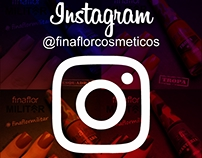 Social Media - @finaflorcosmeticos