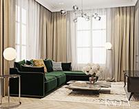 Interior Design from KSD. Living room, BBQ, kitchen
