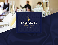 BALTICLUBS Party Place | Visual Identity