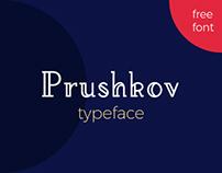 Prushkov - Free Typeface