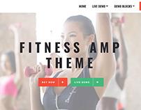 Mobirise Fitness AMP website template