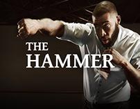 The Hammer . Eric Martel Bahoélie