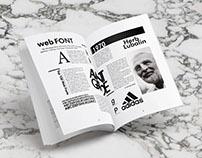 Typo/ Magazine editorial