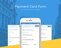 Payment Card Form