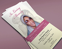 In Loving Memory – Custom Funeral Program
