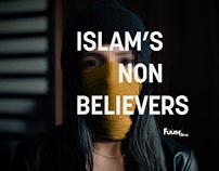 """ISLAM'S NON-BELIEVERS"" Film Logo & Identity system"