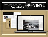 Vinyl Presentation PowerPoint
