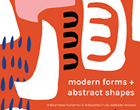 Modern Forms + Abstract Shapes Collection