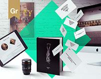 Branding | WEB | UI/UX | Artist A.Mikhno