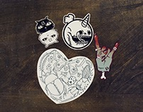 Friday the 13th Sticker Pack | Illustrations