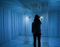 """ WACHSTARRE "" minimalistic light art installation"