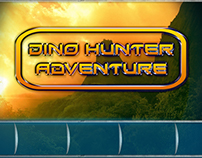Dino Hunter Adventure Game UI